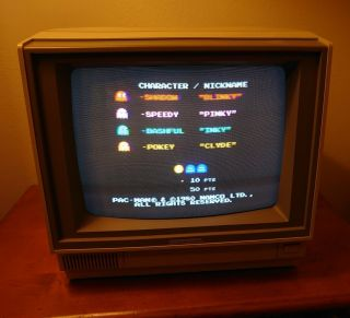Commodore 64 Monitor,  Model 1802.  And.  Monitor Only