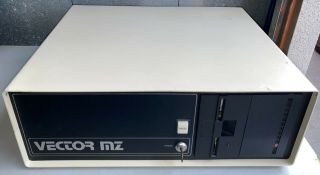 Vector Graphics Mz System S - 100 Computer W/8 Boards And Cables