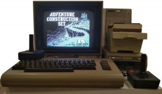 Commodore 64 Tested: 238 Games,  Monitor,  1541 Drive,  Printer,  Modem - C64