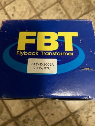 Fly Back Transformer For Vintage Macintosh Aio All In One G3 Powerpc Molar Mac