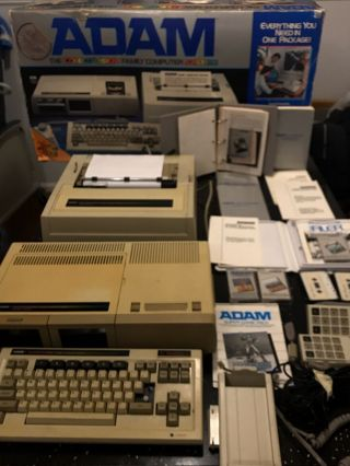 Adam The Colecovision Family Computer System Plus Program Book See Test Video