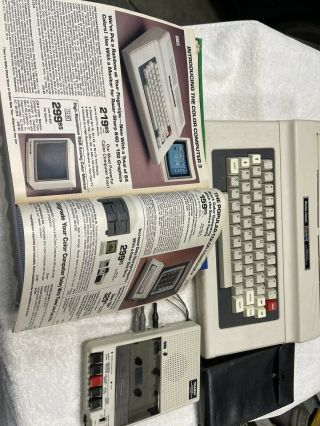 Radio Shack Trs - 80 Color Computer 2 With