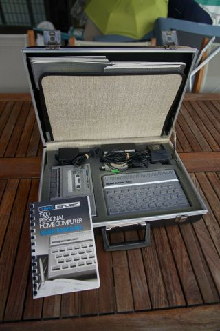 Timex Sinclair 1500 2020 Technical Literacy Series Computer With Case