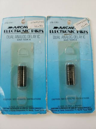 Two Reticon Sad1024a Ic