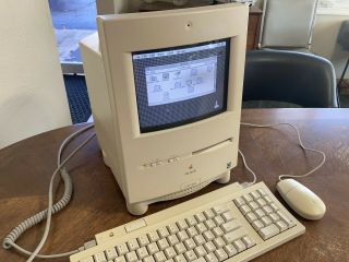 Vintage Mac Apple Macintosh Color Classic Computer M1600 8mb 250 Scsi Hd