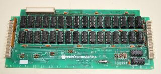 Apple Iii 5v Memory Board 1981 820 - 0041 - B - Ships Worldwide