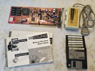 Gravis Ultrasound V3.  4,  Joystick/midi Controller,  Disks,  And Manuals