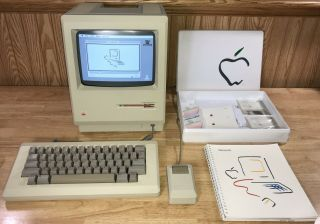 Early 1984 Apple Macintosh 128k 1st Mac Model M0001,  Picasso Kit