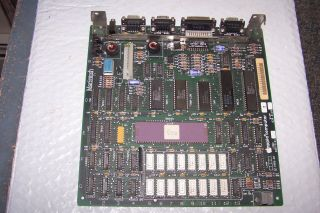 Macintosh 512k Logic Board 630 - 0118 With Silver Ram & Rom Set