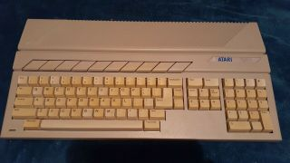 Atari 520stm Computer And Power Supply And