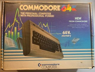 Commodore 64 Personal Computer Gc With Manuals A,