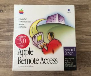 Apple Remote Access 3.  0 - Personal Server (mac Os,  1997) &