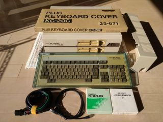 Nec Pc - 9801m,  Keyboard,  Ultrarare Boxed Keyboard Cover,  Etc Perfect Bundle
