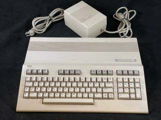 Commodore 128 Computer - Cleaned & All Modes - Includes Power Supply