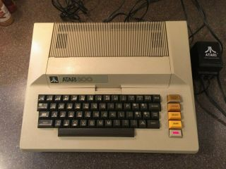 Atari 800 Home Computer With Games,  And