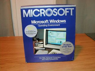Microsoft Windows First Edition (1.  0x) Complete