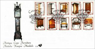 South Africa First Day Cover - No.  5.  20 - Furniture - 09/07/1992